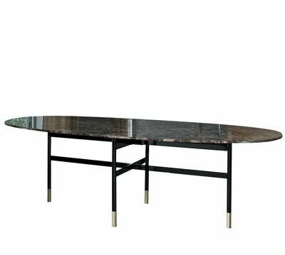 Bontempi GLAMOUR Ellittico |tavolo fisso|