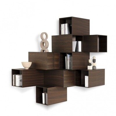 Mogg CELLULA Wood |contenitore a parete|