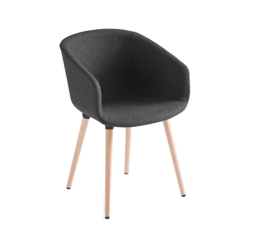Gaber BASKET Chair BL/BP imbottita |poltroncina|