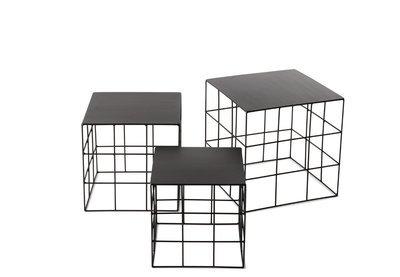 Atipico RETON  tavolino  set 3 Pezzi