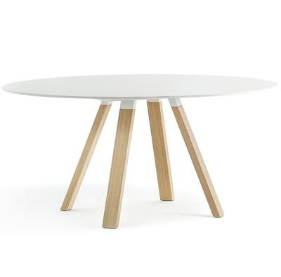 Pedrali ARKI-TABLE Wood Quadrato e Tondo |tavolo fisso|