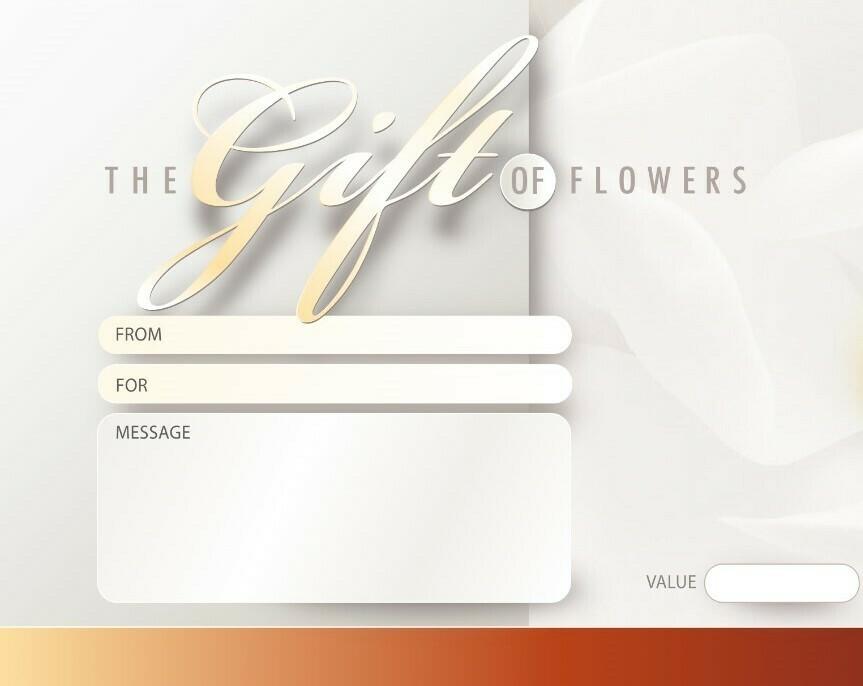 Magnolia Flowers - Digital Gift Vouchers