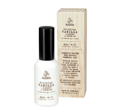 Urban Rituelle Body Mist - Soothing Vanilla, Lavender & Geranium