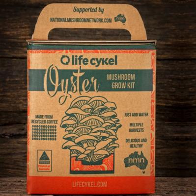 Life Cykel - Oyster Mushroom Grow Kit