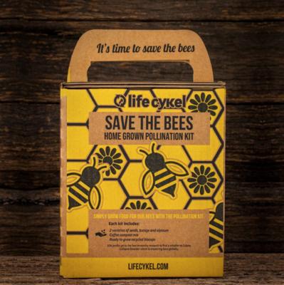 Life Cykel - Bee Pollination Grow Kit