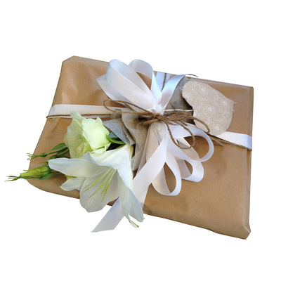Floral Gift Wrapping