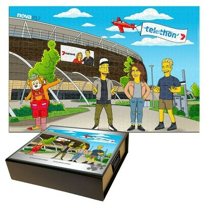 NOVA 93.7 limited edition Telethon 2020 Puzzle