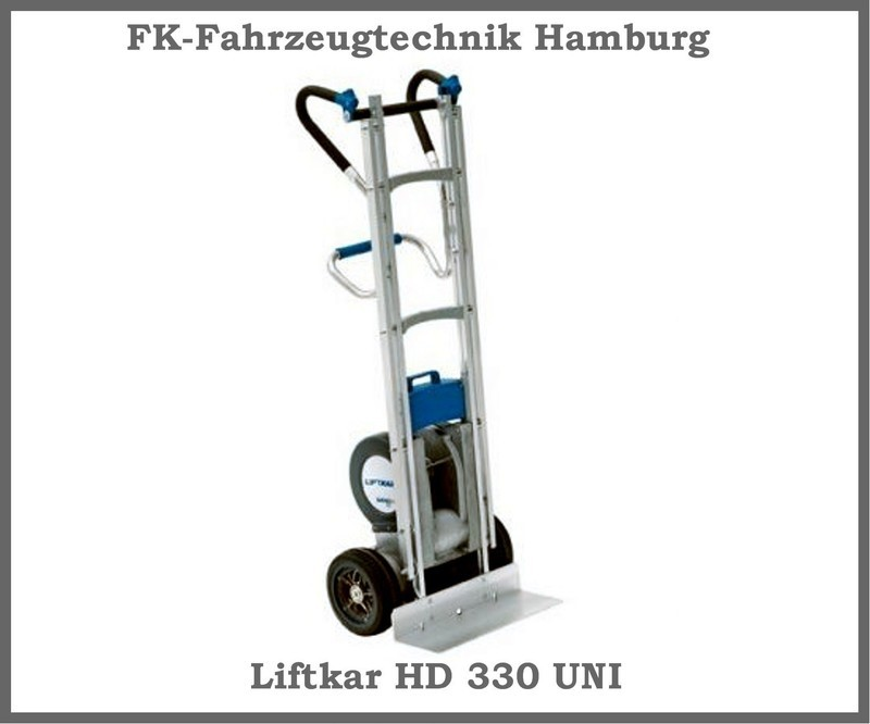 Sano Liftkar Liftkar HD 330 UNI ,Treppensteiger,Sackkarre, Alu, bis zu 330 KG!!!