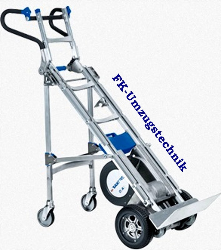 Sano Liftkar Dolly Fold HD Ergo,Treppensteiger,Sackkarre, Alu, bis zu 330 KG