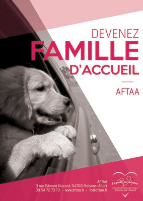 Poster Famille d'Accueil