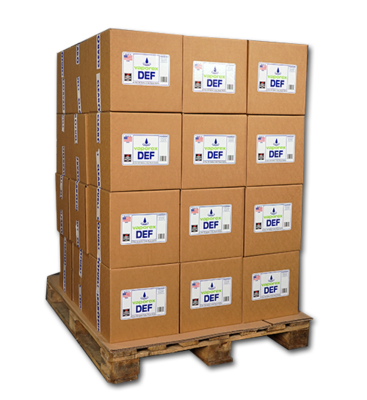 Vaporex DEF 36-Case (144 1-Gallon Units) Pallet
