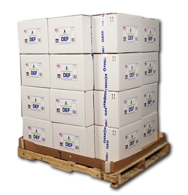Vaporex DEF 36-Case (72 2.5-Gallon Units) Pallet