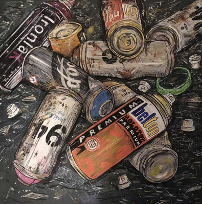 Cans - Limited Edition Giclee Print
