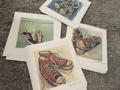 Trainers Mini Print Set