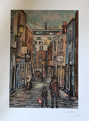 Christmas Steps - Limited Edition print
