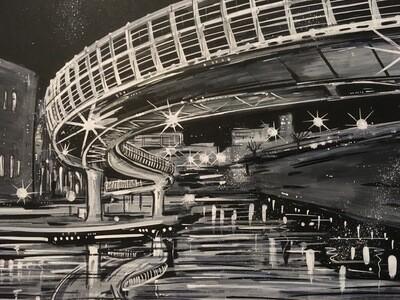 Castle Bridge - Original Painting