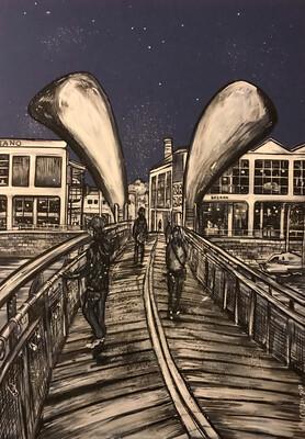 Peros Bridge - Original Painting