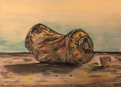Rusty - Original Canvas