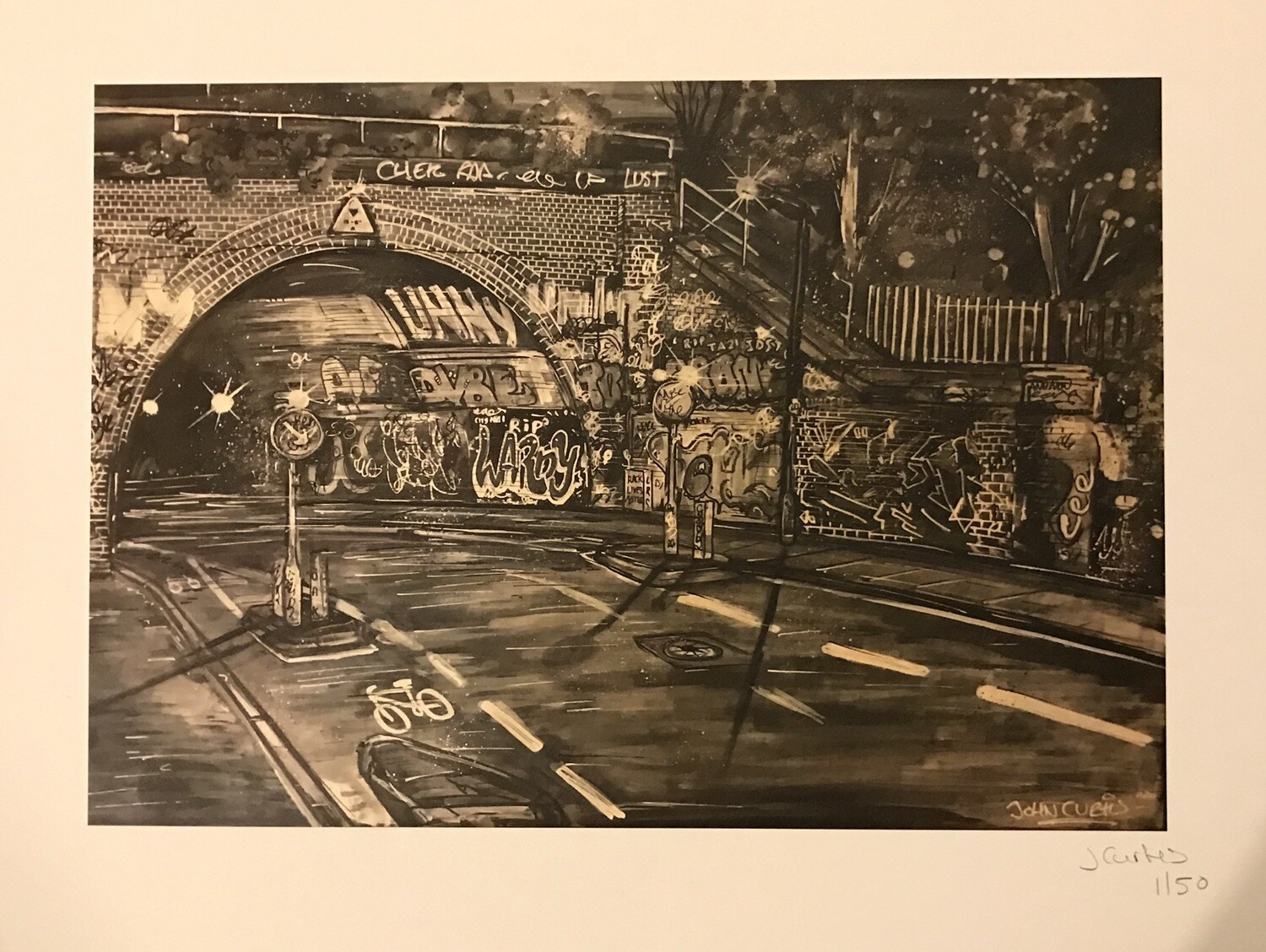 St Werbughs Tunnel - Limited Edition print