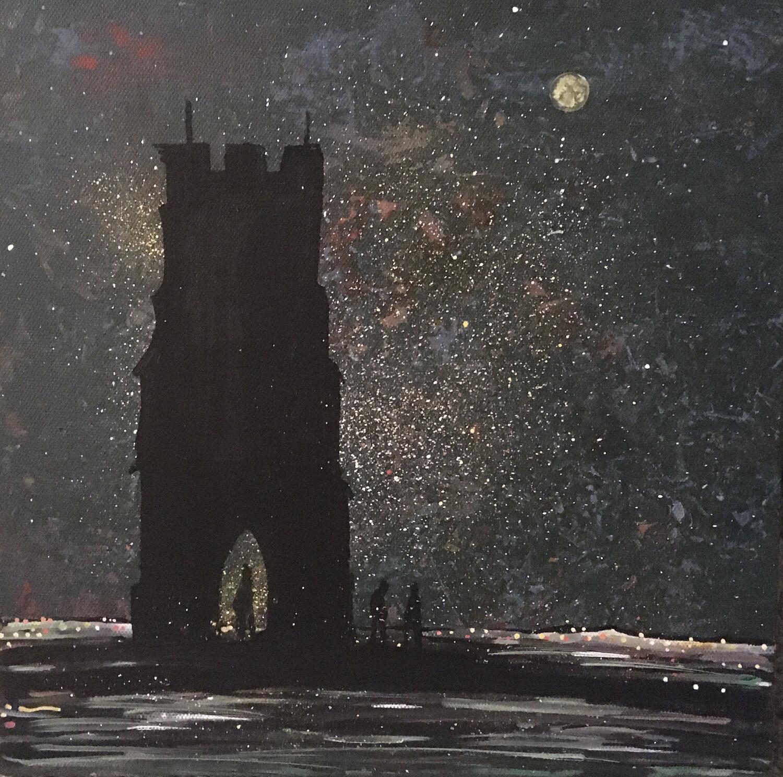 Glastonbury Tor - Original painting On Canvas