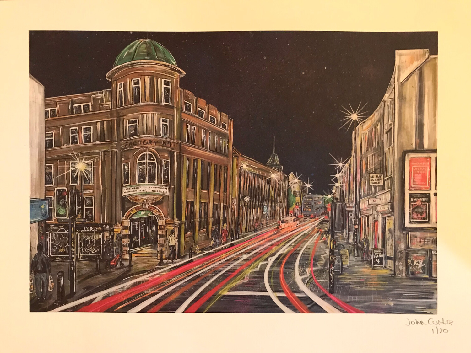 East Street - Bedminster - Limited Edition A3 Size Print