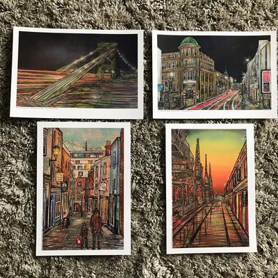 Postcard Pack - Bristol