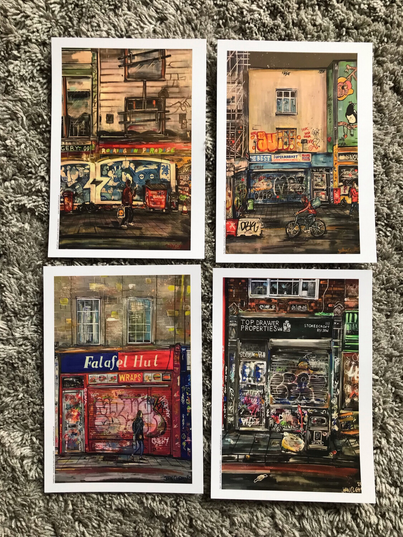 Postcard Pack - Stokes Croft Pack 1