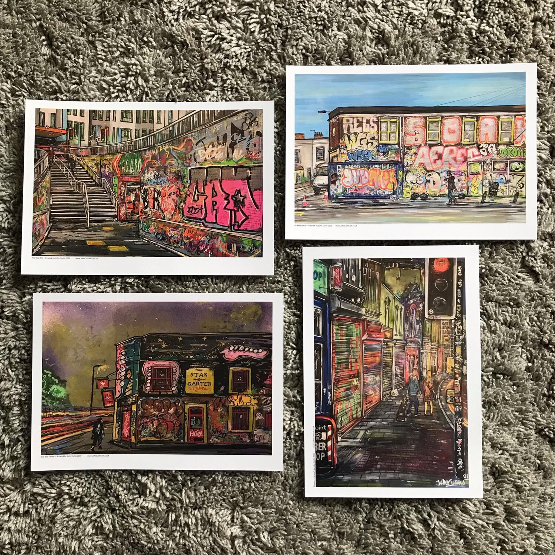 Postcard Pack - Stokes Croft Pack 2