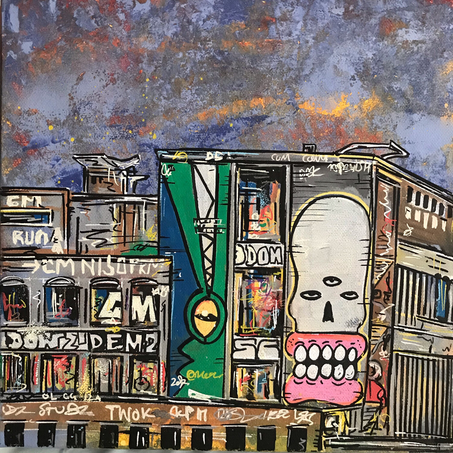 Carriageworks - Painting On Canvas