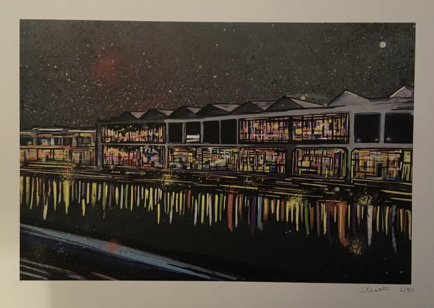 Bristol Waterfront Limited edition A3 print