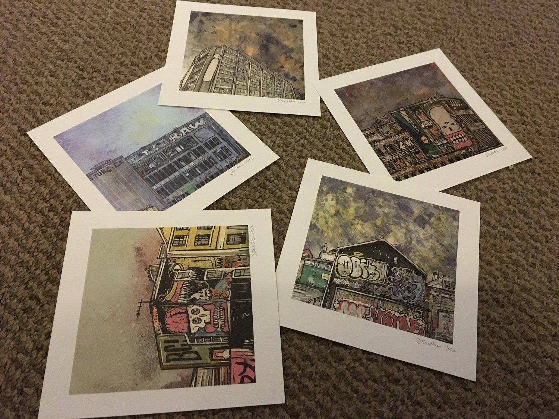 Stokes Croft  - Mini Square Print pack