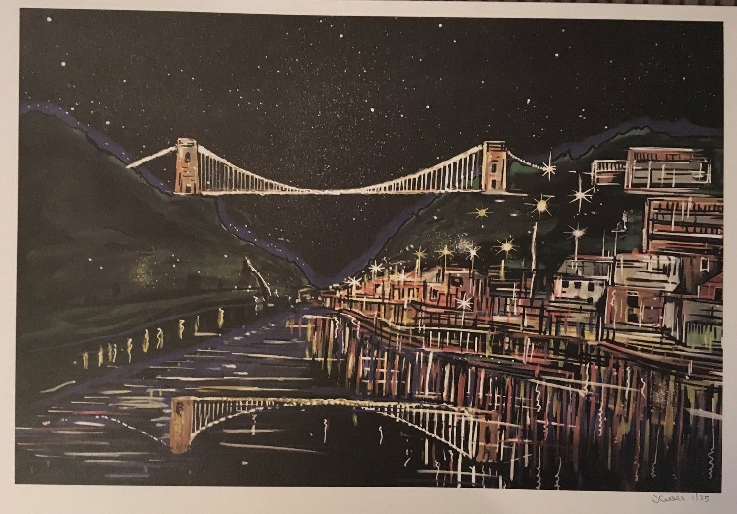 Clifton Suspension Bridge - A3 Print
