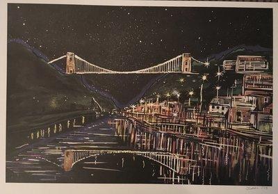Clifton Suspension Bridge - A3 Print