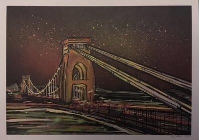 Clifton Suspension Bridge - A4 Print