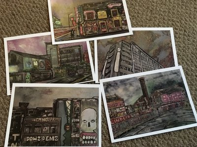 Postcard Pack - Option 1 and 2 (See description)