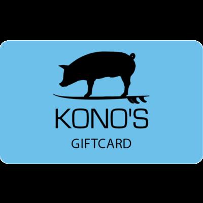 $25 Kono's Gift Card