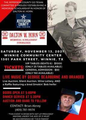 Dalton W. Horn | General Admission