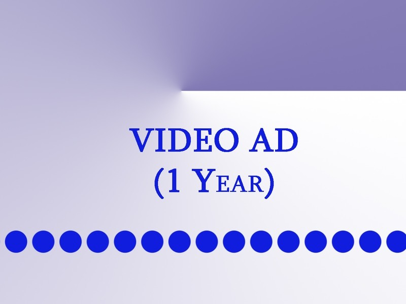 Video Ad (1 year)