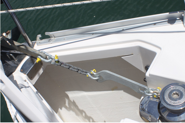 Anchor Self Righting Chain Flip Link