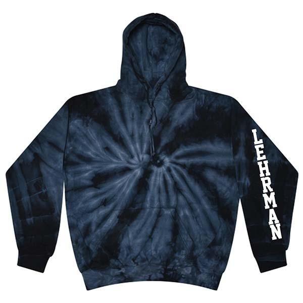 Pullover Hoodie in Tye Dye