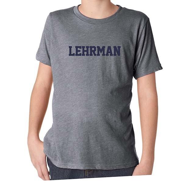 Gray Heather Soft Short-Sleeved T-Shirt