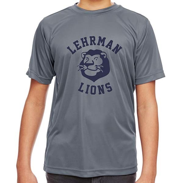 Gray Dri Fit Short-Sleeved T-Shirt