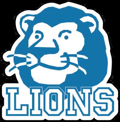 Classic Lion Mascot Car Magnet