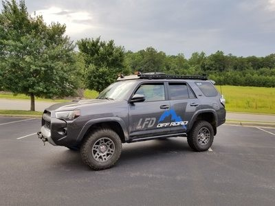 LFD Offroad - Roof Rack - Full Length - 5th Gen 4Runner (2010+)
