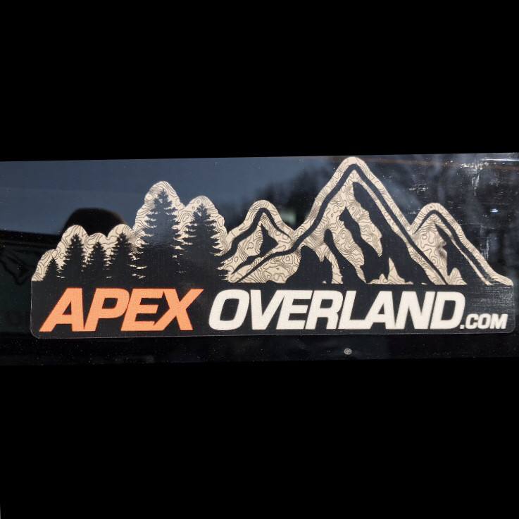 Apex Overland Decal