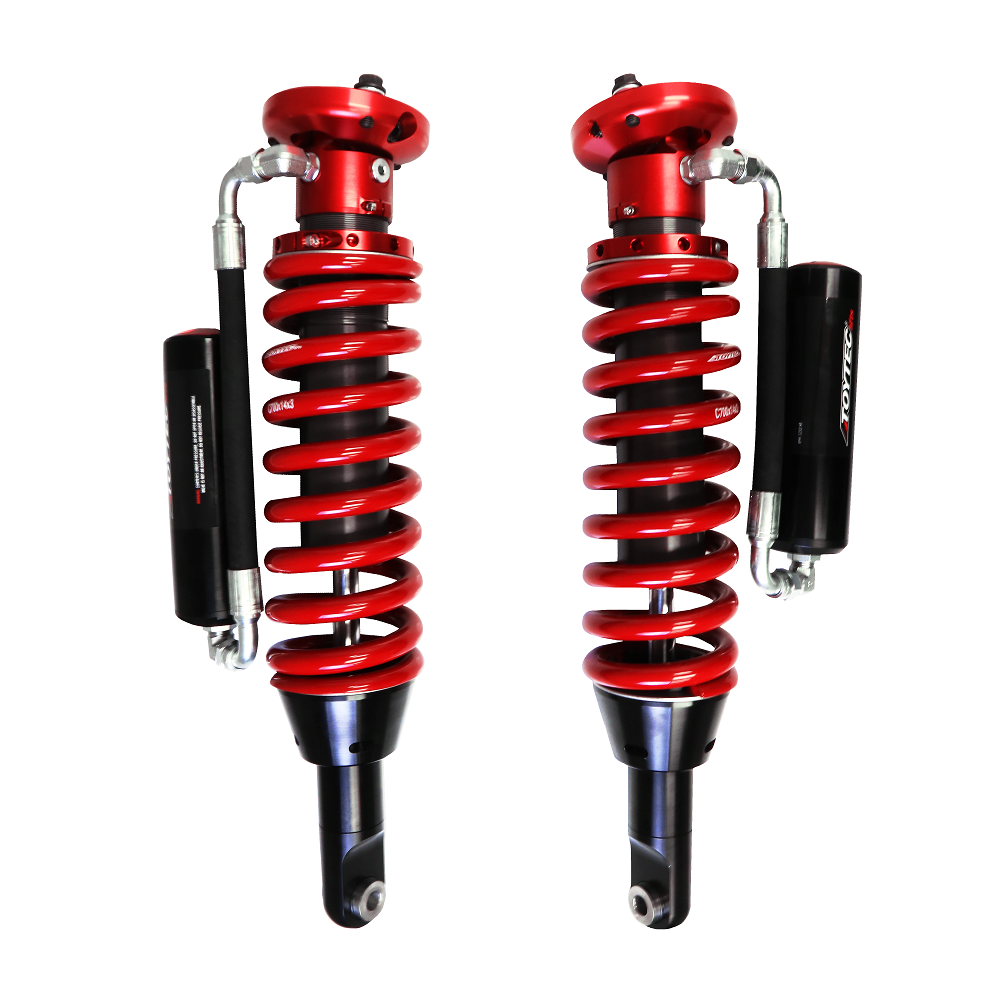 Toytec Boss 2.5 Front Aluma Series Remote Reservoir Coilovers