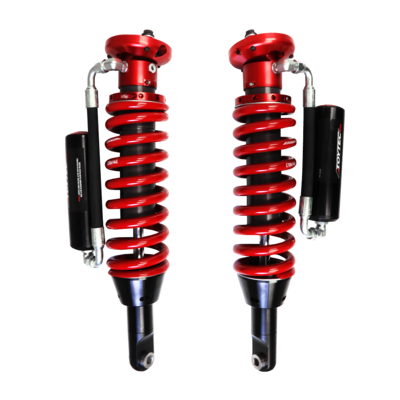 Toytec Boss 2.5 Front Aluma Series Remote Reservoir Coilovers (07-14 FJ/03-09 GX No KDSS)