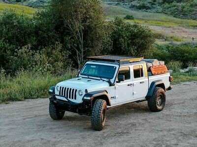 FRONT RUNNER - JEEP GLADIATOR JT (2019-CURRENT) EXTREME ROOF RACK KIT