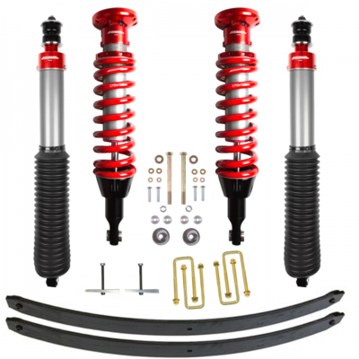 Toytec Boss 2.5 Aluma Series Performance Suspension System for 05-15 or 16+ Tacoma