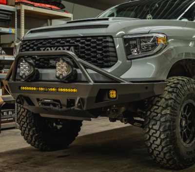 C4 - Tundra Overland Series Front Bumper - 2014+